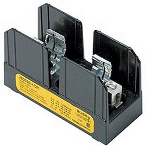Bussmann J60060-1C J600 Series Fuse Block 31 - 60 Amp  600 Volt AC/DC  1-Pole  Bolt Down Mount