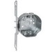 Hubbell Electrical / RACO 119 Octagon Box; 1.563 Inch Length x 7 Inch Width x 3.625 Inch Height x 1.5 Inch Depth, 11.8 Cubic-Inch, Steel, Silver