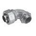 Midwest LT10090-SA Liquidator™ 90 Degree Liquidtight Conduit Connector; 1 Inch, Aluminum