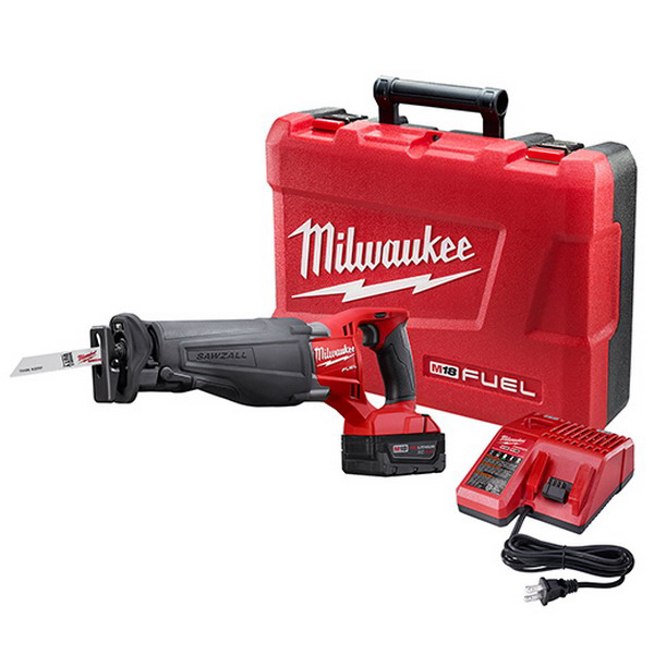Milwaukee Tools 2720-21 Reciprocating Saw Kit; 18 Volt, M18™ Redlithium™ XC4.0 Battery