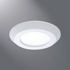Cooper Lighting SLD405830WHJB Halo® Surface Mount 4 Inch LED Surface Downlight; 12.5 Watt, 120 Volt, 650 Lumens
