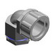 Thomas & Betts 5373 Chase® 90 Degree Connector; 3/4 Inch, Malleable Iron, Electro-Plated Zinc