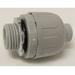 Cantex 6441006 Enviro-Flex® Straight Liquidtight Connector; 2 Inch, PVC