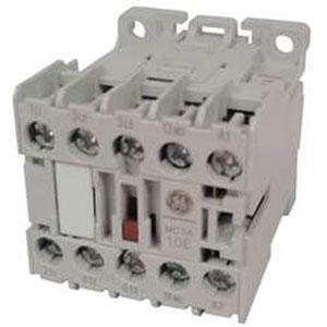 GE Controls MCRC031ATD C-2000™ Control Relay; 10 Amp, 24 Volt DC, 3 NO/1 NC, 4-Pole, DIN Rail/Panel Mount