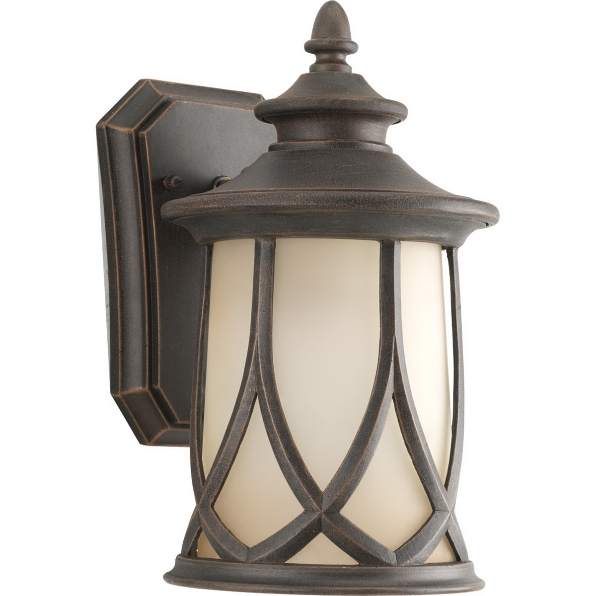 Progress Lighting P5987-122 1-Light Resort Collection Outdoor Wall Lantern 100 Watt  Aged Copper