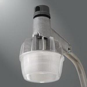 Cooper Lighting CRTKRV1A Streetworks™ LED Roadway Luminaire; 50 Watt, 120 Volt, Unfinished Raw Aluminum, Cast Aluminum
