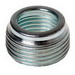 Hubbell Electrical / RACO 1145 Reducing Bushing; 1-1/4 Inch x 1/2 Inch, Threaded, Steel, Electro-Zinc-Plated