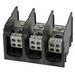 Ilsco PDH-11-2/0-1 ClearChoice® Power Distribution Block; 175 Amp, 600 Volt, Aluminum, Black