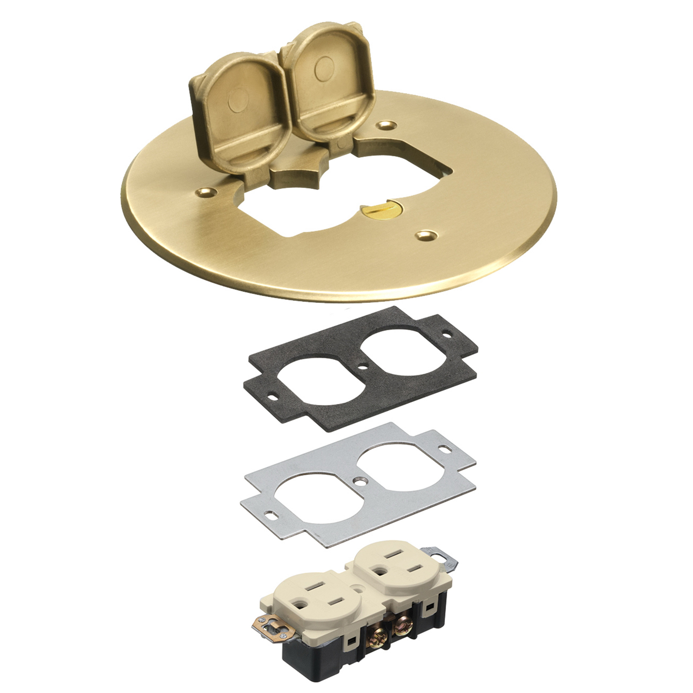 Arlington Flb6230mb Cover Kit Brass Home Goods