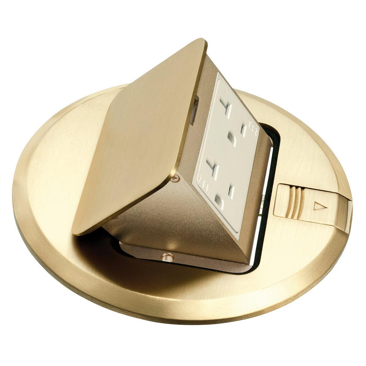 Arlington FLBT6615MB Trapdoor Cover; Brass