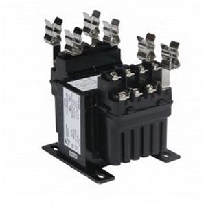 Hammond SP50QR Spartan® Industrial Control Transformer; 240/480 Volt Primary, 12/24 Volt Secondary, 50 VA, 1-Phase, Screw Terminal, Base/Panel Mount