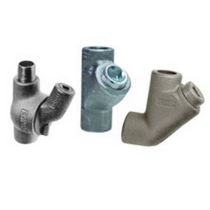 Cooper Crouse-Hinds EYS5-SA EYS Series Conduit Hub; 1.500 Inch, FNPT x FNPT, Copper-Free Aluminum