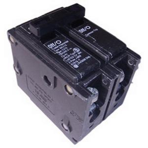 Eaton / Cutler Hammer HQP2100 QuickLag® Molded Case Circuit Breaker; 100 Amp, 120/240 Volt AC, 2-Pole, 1-Phase, Plug-On Mount