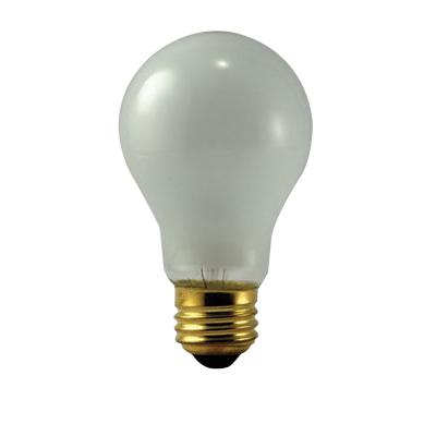 Eiko 40A-130V Incandescent Lamp; 40 Watt, 130 Volt, Medium Screw (E26) Base, 2000 Hour, Inside Frost