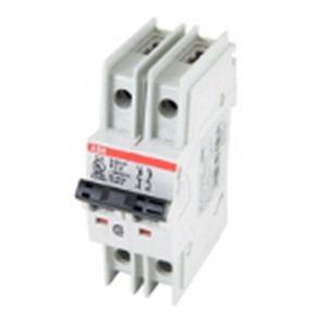 ABB S202UP-K5 System pro M compact® Miniature Circuit Breaker; 5 Amp, 480Y/277 Volt AC, 2-Pole, 35 mm DIN-Rail Mount