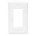 Cooper Wiring 2164LA-BOX 4-Gang GFCI Decorator Wallplate; (4) Decorator, Screw Mount, Thermoset, Light Almond