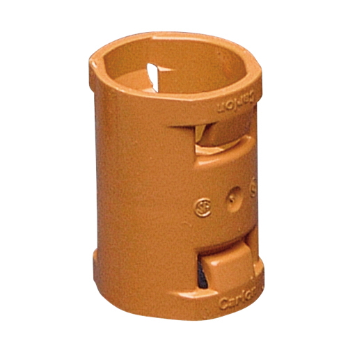 Carlon SCA240F Resi-Gard™ Non-Metallic Coupling; 1 Inch, Non-Metallic, Orange