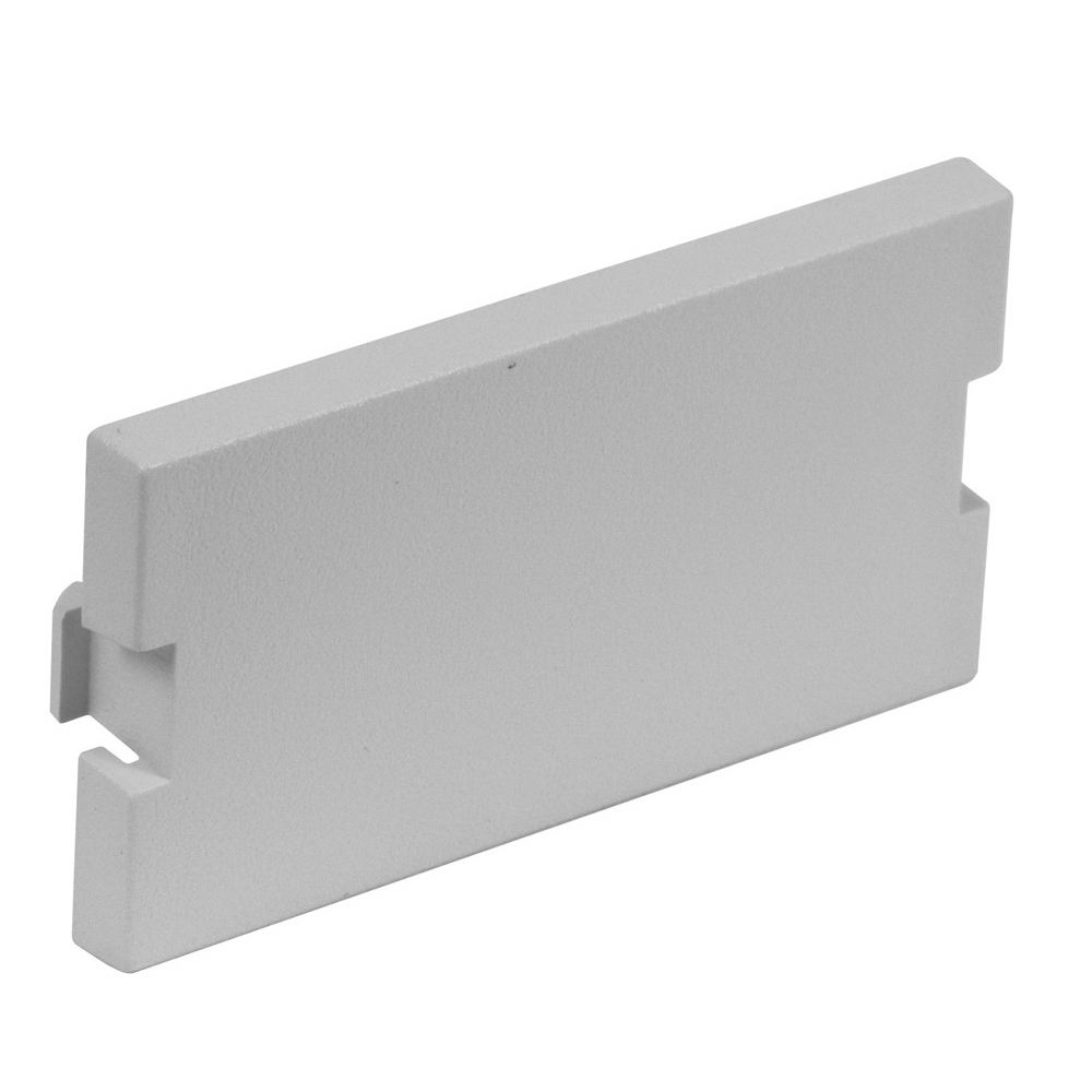 Hubbell Premise IMB1GY Istation™ AV Unloaded Module; Flush Keystone Mount, ABS, Gray
