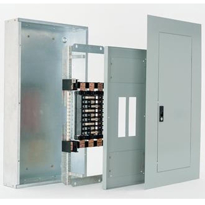GE Busway AQU1424RCXAXT1B4 Pro-Stock® Feed Through Bus; 76 Inch, 240 Volt AC, 400 Amp, 1-Phase, For A Series Panelboards