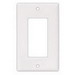 Cooper Wiring 2051V-BOX 1-Gang GFCI Decorator Wallplate; Screw Mount, Thermoset, Ivory