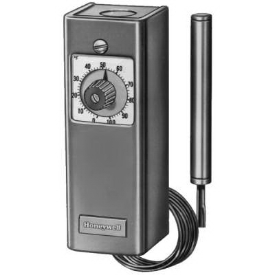 Honeywell T675A1102 Remote Temperature Controller; 120 Volt AC - 240/277 Volt AC, 5 5/8 Inch Height x 2 Inch Width x 2 5/8 Inch Depth