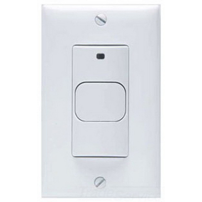 Hubbell Automation LHIRS0I LightHawk™ Passive Infrared Wall Switch Occupancy Sensor; 120/277 Volt AC, 1-Gang Switch Box Mount, Ivory