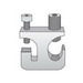 Cablofil A840-01-ZN Cable Tray Grounding Clamp; 6 AWG - 250 MCM