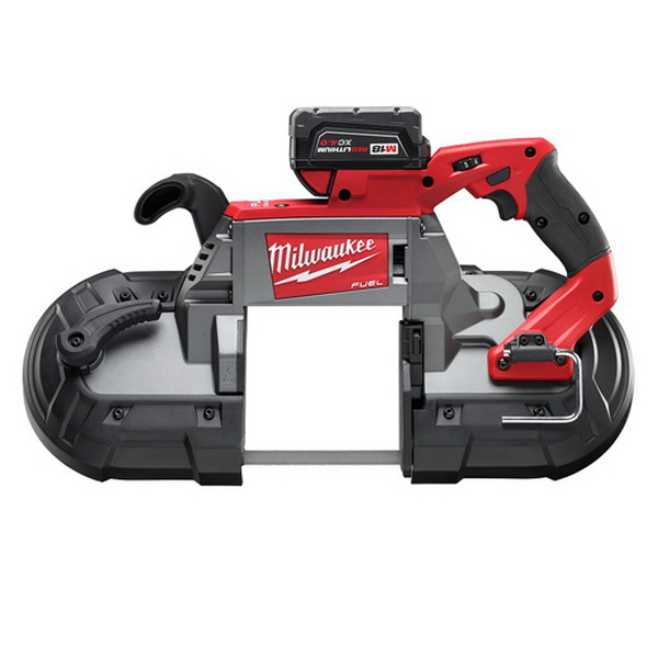 Milwaukee Tool  2729-22 M18 Fuel™ Deep Cut Band Saw Kit; Deep Cut Band Saw, Xc 4.0 Extended Capacity Battery Pack, Multi-Voltage Charger, Blade, Carrying Case, 21 Inch, 0 - 380, 5 Inch X 5 Inch