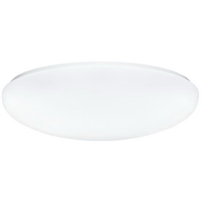 Lithonia Lighting / Acuity FMLR11-2-13DTT-M4 2-Light Flush Mount Fluorescent Light Fixture 13 Watt  120 Volt  White