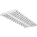 Lithonia Lighting / Acuity IBZ-654L-WD-GEB10PS90 I-Beam® 6-Light Suspension Mount IBZ Series Energy-Saving Fluorescent High Bay Fixture; 54 Watt, 120 - 277 Volt, Heavy Duty Code Gauge Die-Formed Steel, High Gloss Baked White Enamel