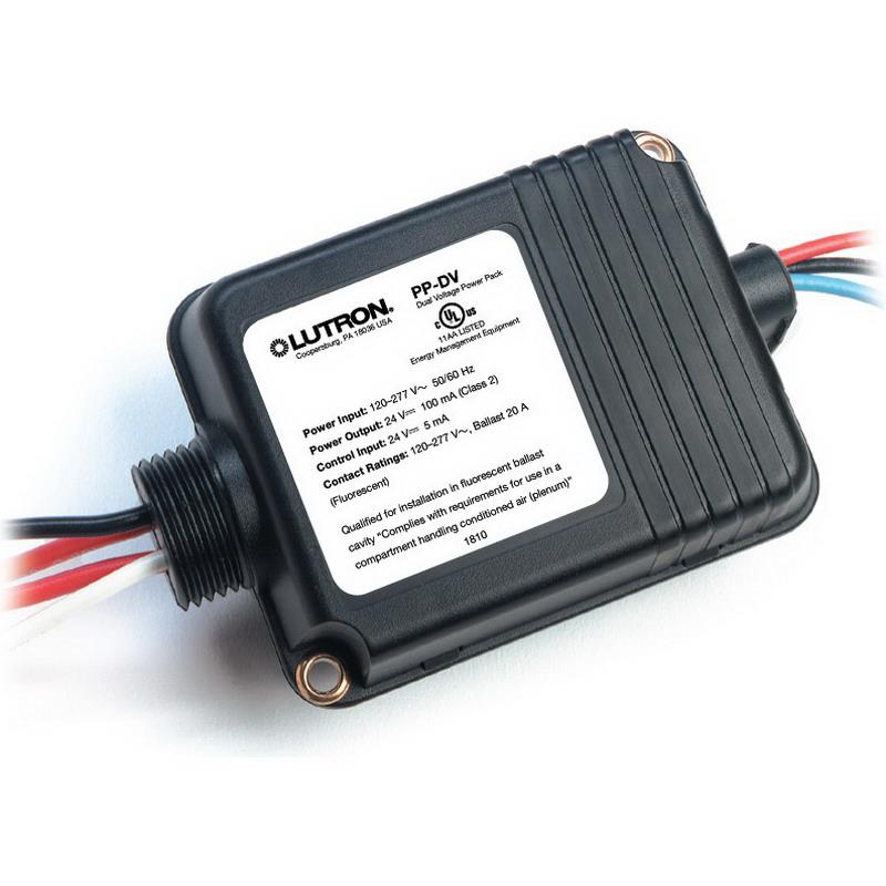 Lutron PP-DV PP Series Power Pack; 120 - 277 Volt, 16 Amp