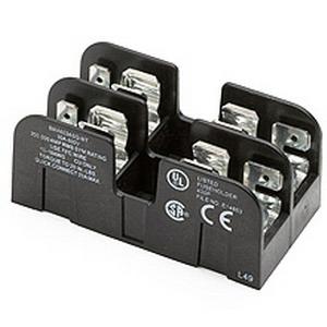 Bussmann BCA603APQ BCA Series Fuse Block; 1/10 - 30 Amp, 600 Volt AC/DC