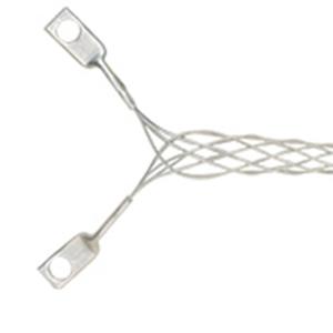 Leviton L8003 Wire Mesh Strain Relief Grip; 0.520 - 0.730 Inch, Galvanized Steel Grip