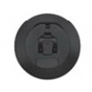 Hubbell Wiring S1R4CVRBLK Scrubshield® Cover