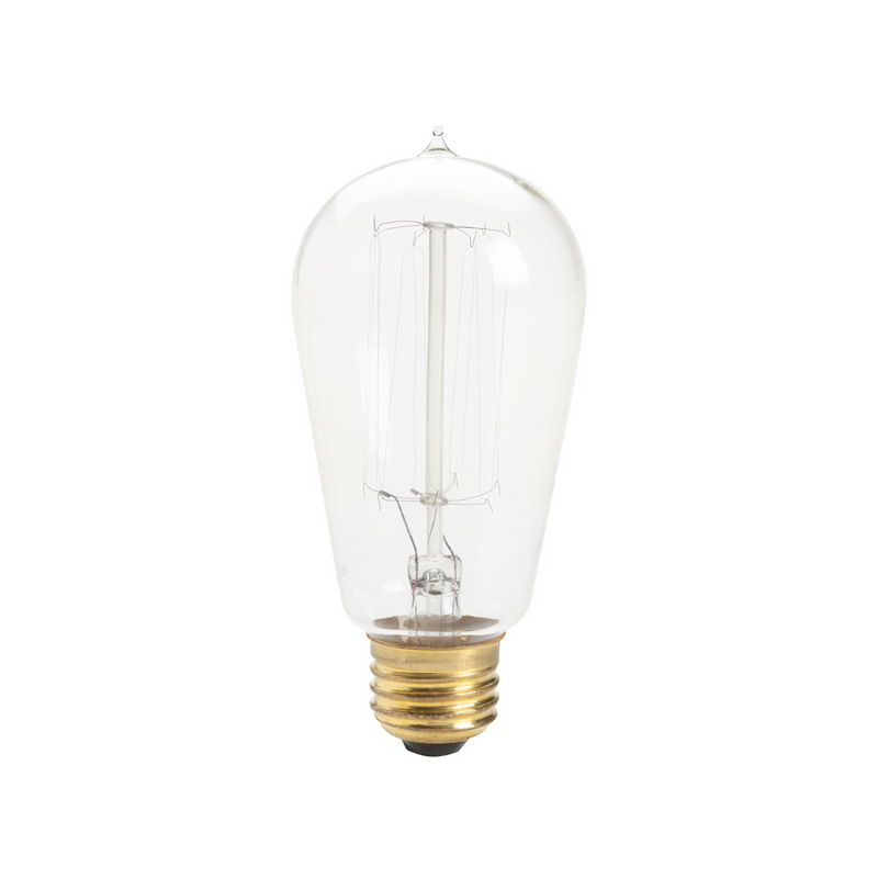 Kichler 4071clr Incandescent Light Bulb 60 Watt 120 Volt S21 Base Clear Home Goods