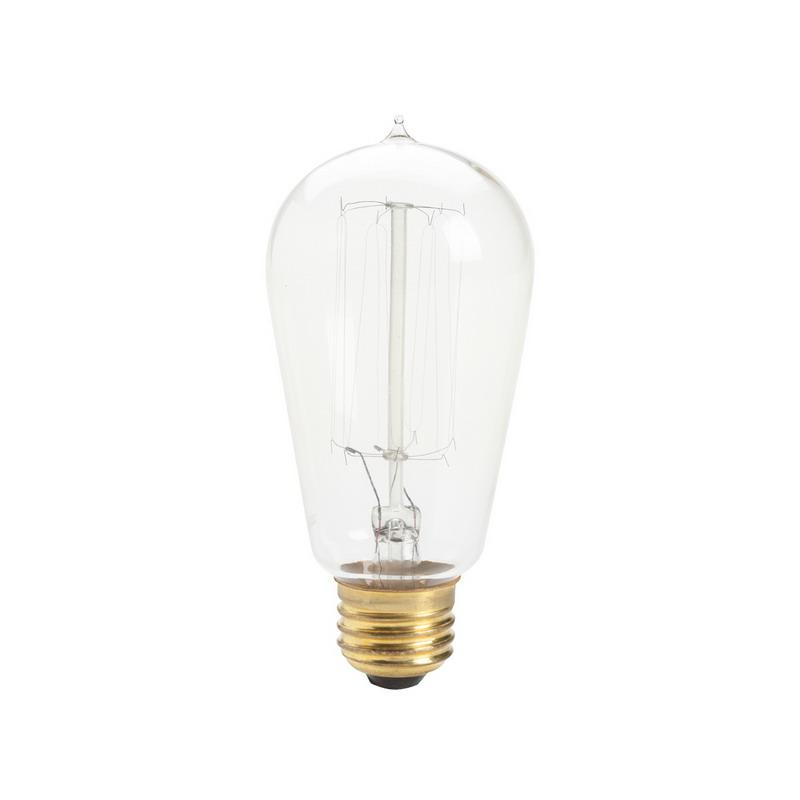 Kichler 4071clr Incandescent Light Bulb 60 Watt 120 Volt S21 Base Clear Home Goods
