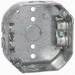 Hubbell Electrical / RACO 146 Octagon Box; 1.563 Inch Length x 4 Inch Width x 4 Inch Height x 1.5 Inch Depth, 15.5 Cubic-Inch, Steel, Silver