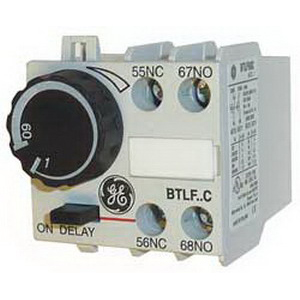 GE Controls BTLF60C Pneumatic Timer; 25 - 40 Amp, For Use With CR453A Full Voltage Contactors