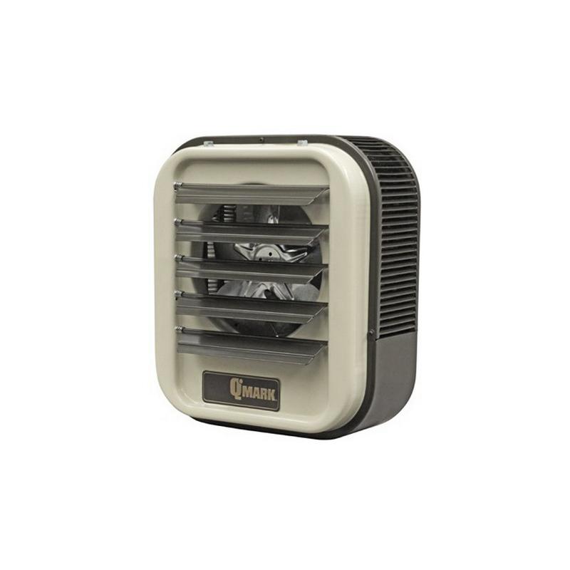 Marley MUH108 Unit Heater; 650 cfm, 1 Or 3 Phase, 208 Volt, 34.1 BTU/Hour, 7.5 kilowatt, Off-White