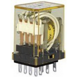 Idec RY4S-ULAC110-120V Miniature Relay With Indicator; 110 - 120 Volt AC