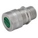 Hubbell Electrical / RACO 4802-9 Strain Relief Cord Connector; 1/2 Inch, Aluminum