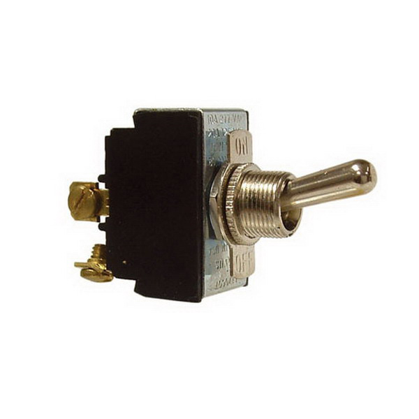 Hubbell Electrical / RACO 6415 Toggle Switch; DPST, 125/250 Volt AC, 10/20 Amp