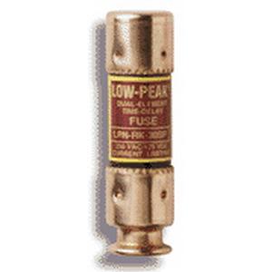 Bussmann LPN-RK-1-6/10SP Low-Peak® Time-Delay Fuse; Class RK1, 1-6/10 Amp, 250 Volt AC, 125 Volt DC, Holder Mount, Clip