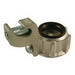 Hubbell Electrical / RACO 1296 Grounding Bushing; 4 Inch, NPS, Malleable Iron, Electro-Zinc-Plated
