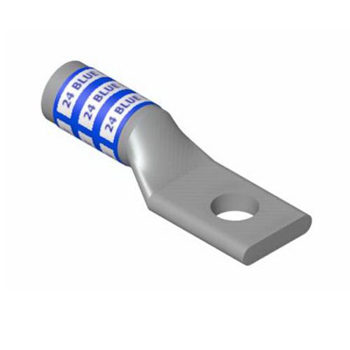 Thomas & Betts 60113-TB Color-Keyed® Compression Lug; 1 Hole, 5/16 Inch Stud, 4 AWG, Aluminum, Green
