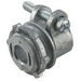 Hubbell Electrical / RACO 2191 Squeeze Connector; 0.375 Inch, Die-Cast Zinc