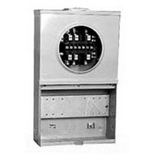 Milbank UC3889-XL Meter Socket; 20 Amp, 600 Volt, 3-Phase, Surface Mount