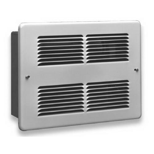 Wall mounted fan heater for bathroom