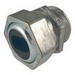 Hubbell Electrical / RACO 2475 Service Entrance Cable Liquidtight Connector; 1-1/4 Inch, NPT, Steel/Malleable Iron, Electro-Plated Zinc