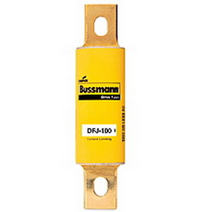 Bussmann DFJ-30 High Speed Fuse; Class J, 30 Amp, 600 Volt AC, 450 Volt DC, Stud Mount, Bolt Down